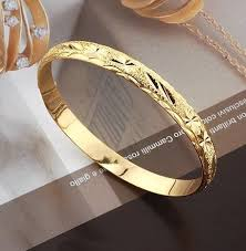 gold bangles bracelet images Arrive fashion jewelry bangle 8mm 66mm 18k yellow gold filled jpg
