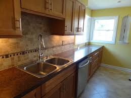 easy to install kitchen backsplash simple kitchen backsplash frugal peel and stick rustic ideas photo