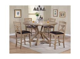 counter height dining room table winners only grandview 5 piece counter height drop leaf dining set
