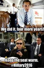 Hillary Clinton Cell Phone Meme - laughing at the president the best memes funny photo captions
