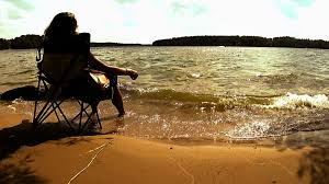 Beach Lounge Chair Png Silhouette Relax And Enjoy Sun On An Easy Chair At The Lake