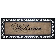 Cast Iron Doormat Extra Large Coir Doormat Half Moon Cast Iron Door Mat 10364681