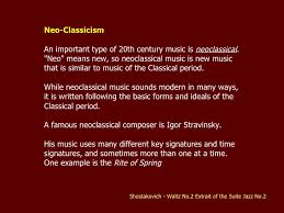 the history of classical 1600 2000