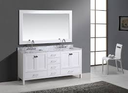 Two Sink Vanity London Hyde 72 U2033 Double Sink Vanity Set In White Finish Design
