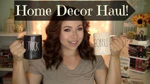 Hobby Lobby Home Decor Fabric Home Decor Haul Tjmaxx Kirklands U0026 Hobby Lobby Youtube