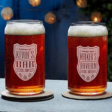 Design Your Own Home Brew Labels Beer Can Glasses Custom Engraved Beer Label