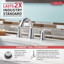 Pex To Faucet Connection 3538 Mpu Dst Two Handle Widespread Lavatory Faucet