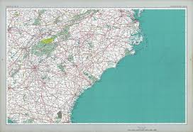Southeast United States Map by The National Atlas Of The United States Of America Map Collection