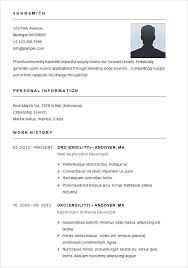 simple free resume template simple free resume template lidazayiflama info