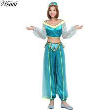 Princess Halloween Costumes Women Cheap Princess Jasmine Halloween Costume Women
