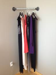 home design diy hanging clothes rack home builders upholstery