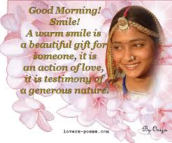 gifs love messages good morning smile