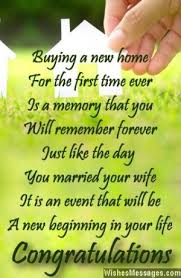 buying a new home for the first time ever is a memory that you