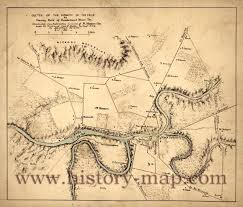 Map Of Tennessee River by Fork Of Cumberland River