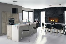 cuisine blanche ouverte sur salon cuisine ouverte sur salon avec bar cuisine blanche ouverte sur salon