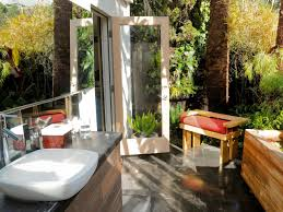 Outdoor Shower Mirror - rustic tropical outdoor shower tree design natural steeping stone