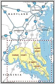 maryland byways map destination southern maryland where tide and time meet