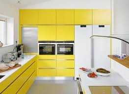 Yellow And White Kitchen Ideas Yellow And White Kitchen Cabinets Sustainablepals Org