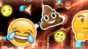 island emoji the emoji movie in geometry dash emoji island by piseto