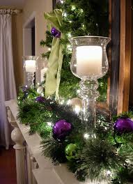 Images Of Mantels Decorated For Christmas Festive Christmas Mantel Decorating Idea In My Own Style