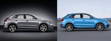 audi q3 best price uk audi q3 2015 facelift vs pre facelift spot the difference carwow