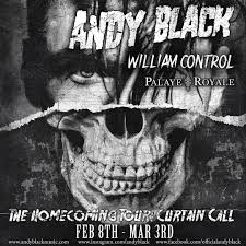 Curtain Call Album The Homecoming Tour Curtain Call Andy Black With William Control