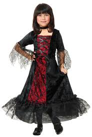 girls gothic vampira kids costume mr costumes