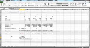 Spreadsheet Examples Excel Capital Budgeting In Excel Example Youtube