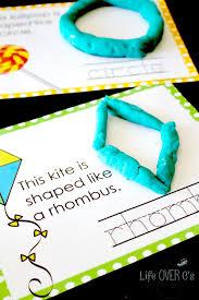 free printable shape playdough mats free 2d shape play dough mats life over cs