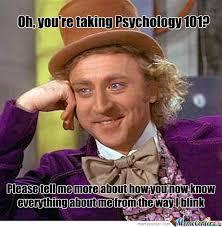 Psych Meme - the gen psych wonka meme psychmob