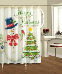 sale custom merry fabric waterproof bathroom shower curtain x
