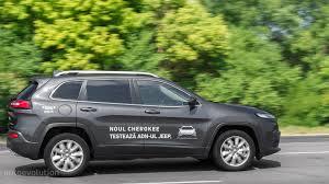 green jeep cherokee 2015 2015 jeep cherokee review autoevolution