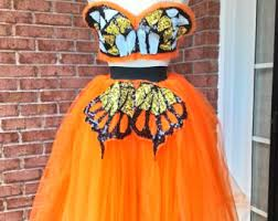 Monarch Butterfly Halloween Costume Butterfly Costume Etsy