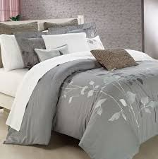 Duvet Covers Grey And White White And Grey Duvet Cover Set Home Design Ideas