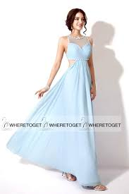prom dresses baby blue long dress on sale