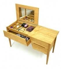 Folding Vanity Table Oak Vanity Table Foter