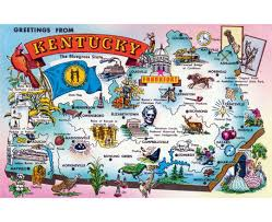 State Maps Usa by Maps Of Kentucky State Collection Of Detailed Maps Of Kentucky