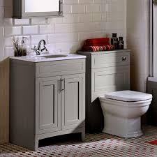 Bathroom Vanity Unit Worktops Noble Classic Extra Deep Vanity Unit With Worktop And Washbasin