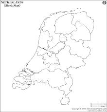 map netherlands blank map of netherlands netherlands outline map