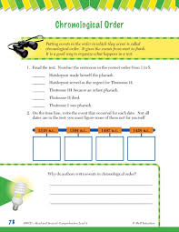 best ideas of chronological order worksheets 4th grade in template