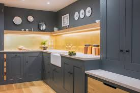 modern industrial kitchen showroom sustainable kitchens