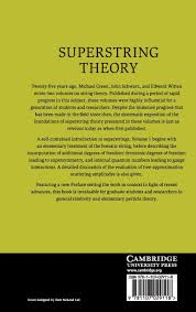 superstring theory 2 volume hardback set superstring theory 25th