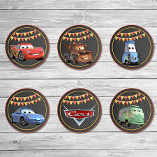 cars cake toppers disney cars cupcake toppers chalkboard cars stickers