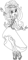 98 best monster high coloring pages images on pinterest
