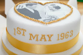 golden wedding cakes 50th golden wedding anniversary cake basildon pangbourne