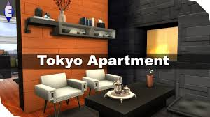 Japanese Style Apartment by The Sims 4 Speed Build Tokyo Apartment Youtube