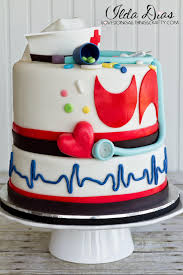 i love doing all things crafty nurse u0027s week cake happy birthday