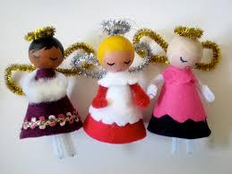 christmas tree angels u2013 made by toya