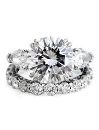 unique stone rings images Portia 3 stone diamond engagement ring with pear side stones jpg