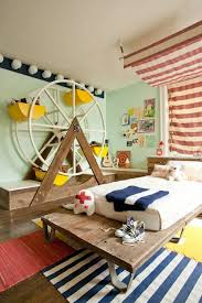 Boys Bed Canopy Artistic Living Spaces Fun Kids Room With Striped Bed Canopy